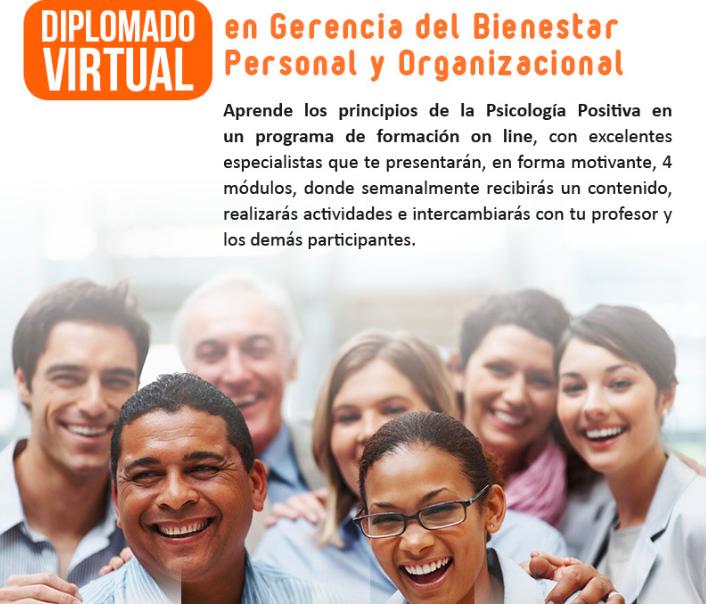 Diplomado virtual Gerencia del Bienestar Psicología positiva